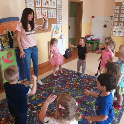 Język angielski w Przedszkolu Kajtek