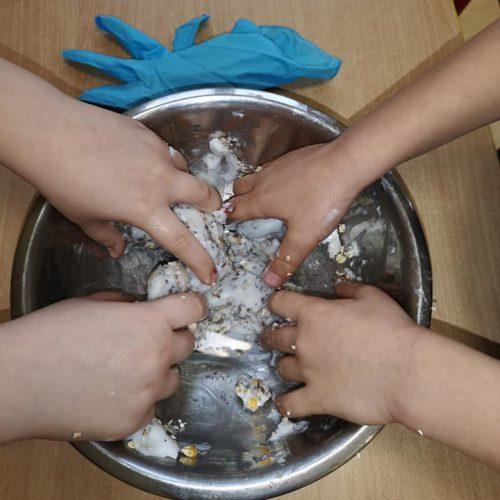 Zajęcia dodatkowe sensorki w Przedszkolu KAJTEK